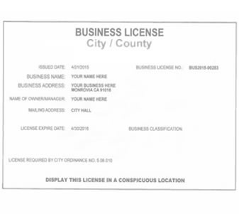 Request License  Permit